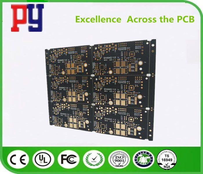 1oz Copper FR4 Printed Circuit Board 4 Layer Immersion Gold 1.2mm ENIG Surface