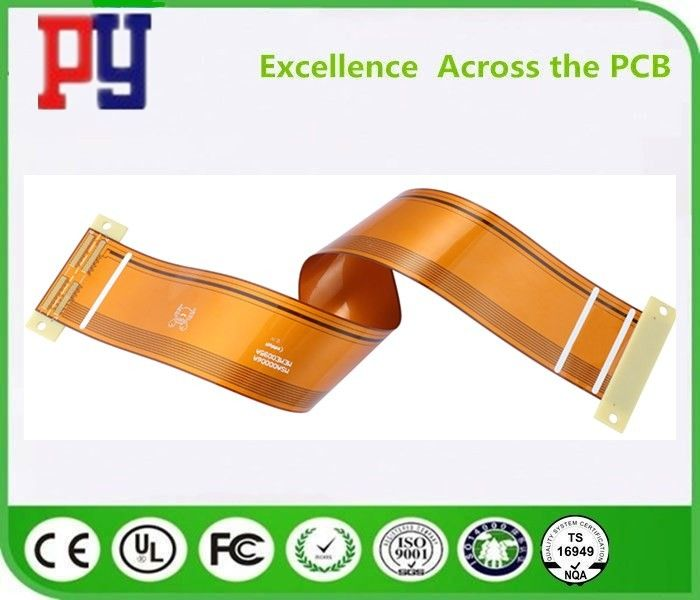 6 layers  flexible pcb  1OZ   Multilayer PCB Board   polyimide